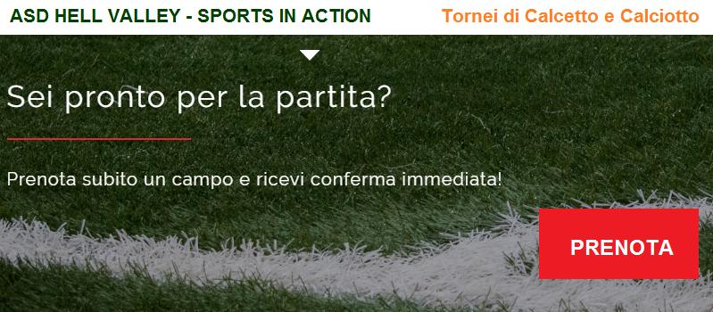 Organizzazione tornei di Calcetto e Calciotto a Roma